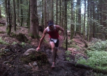 Xterra france 2012 Cedric lassonde running