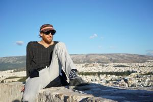 Cedric Woo on the Acropolis