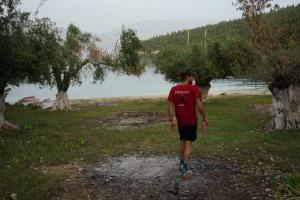 mighty run in Fiskardo