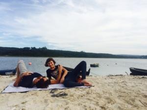 relaxing in Peniche