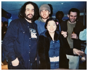 David Mancuso at the first ever Loft party in London